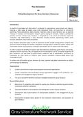 Pisa Declaration on Policy Development for Grey Literature Resources