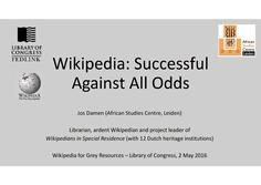 Wikipedia for Grey Resources