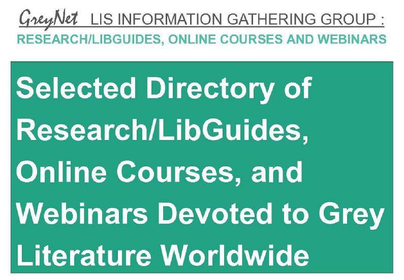 Selected Directory of Research/LibGuides